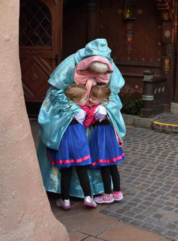 Meeting Princesses at Disneyland - Fairy Godmother