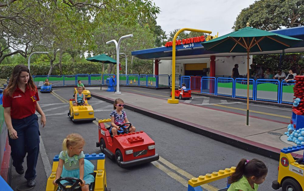 Perfect Day at LEGOLAND California - Junior Driving School
