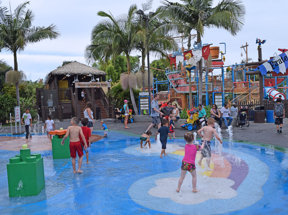 Perfect Day at LEGOLAND California - Pirate's Splash Area
