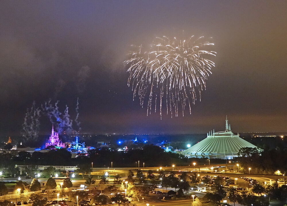 Disney World Spring Break - Fireworks