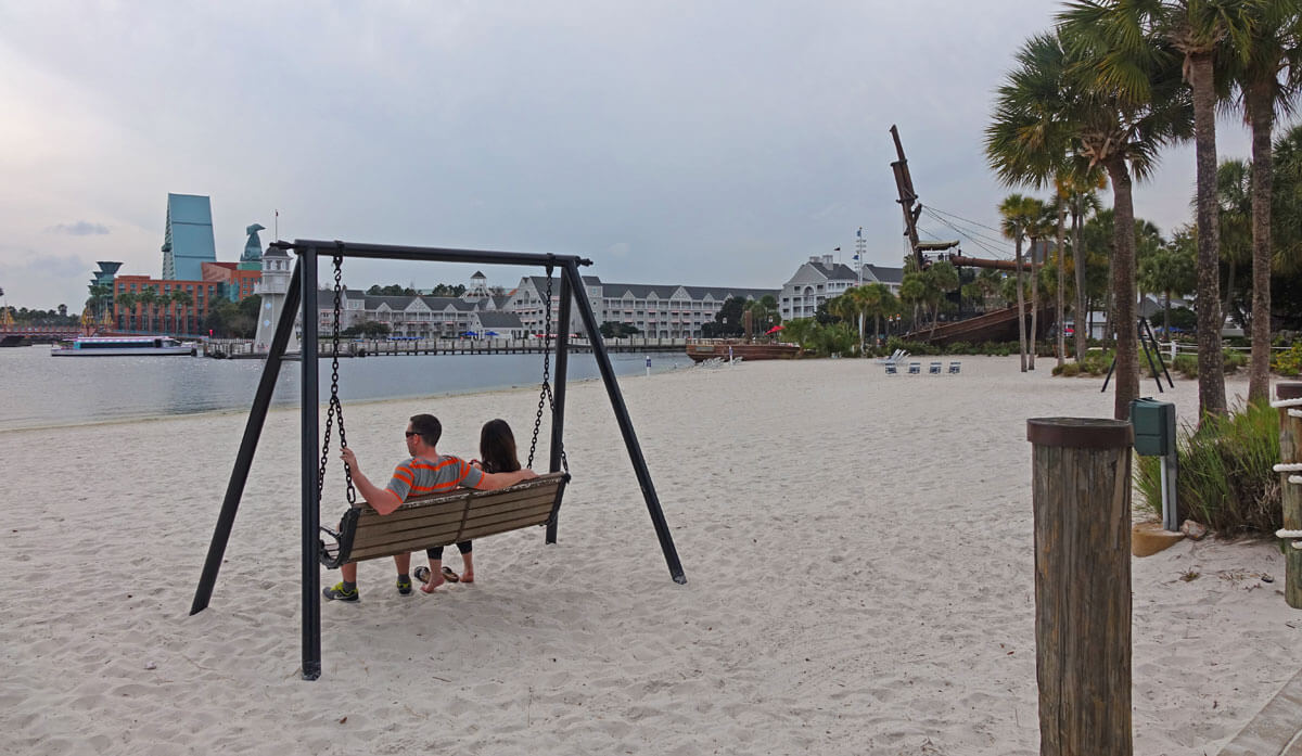 Romantic Things to Do at Disney World For Valentine's (or any) Day - Beach Club