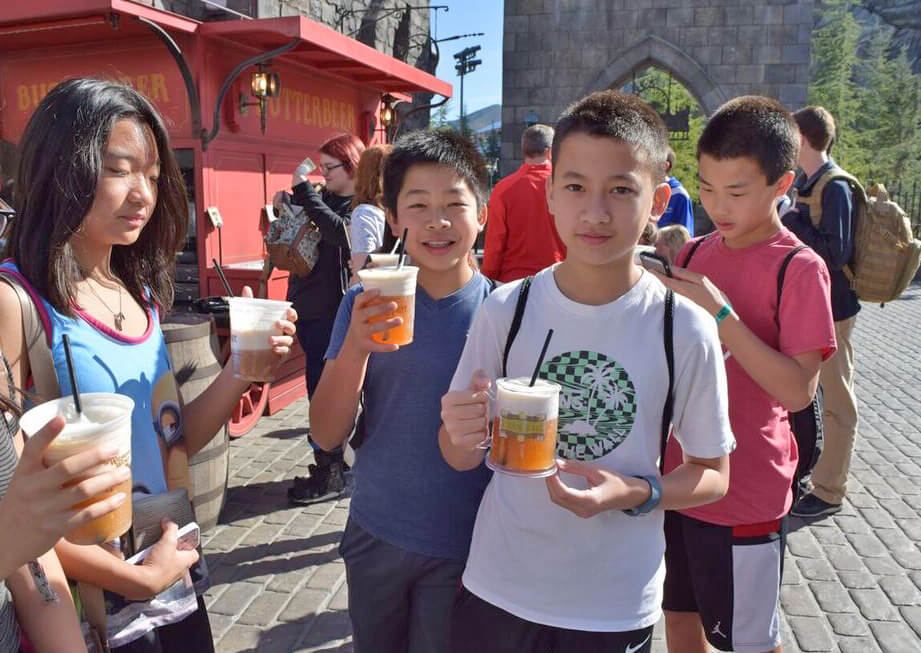 Wizarding World of Harry Potter at Universal Studios Hollywood Preview - Butterbeer