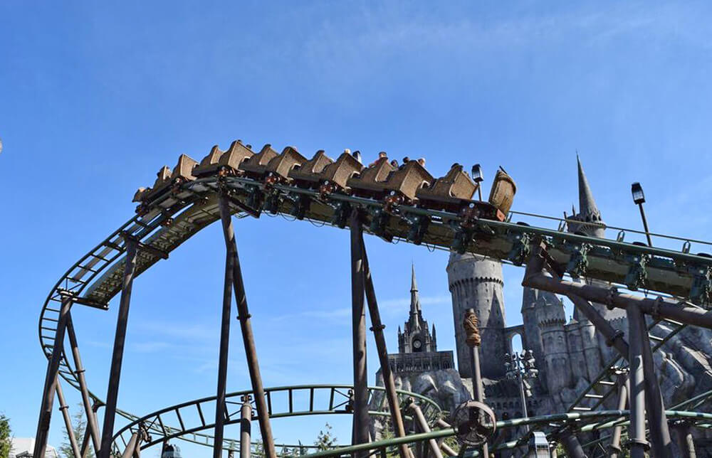 Universal Studios Hollywood Height Requirements - Flight of the Hippogriff