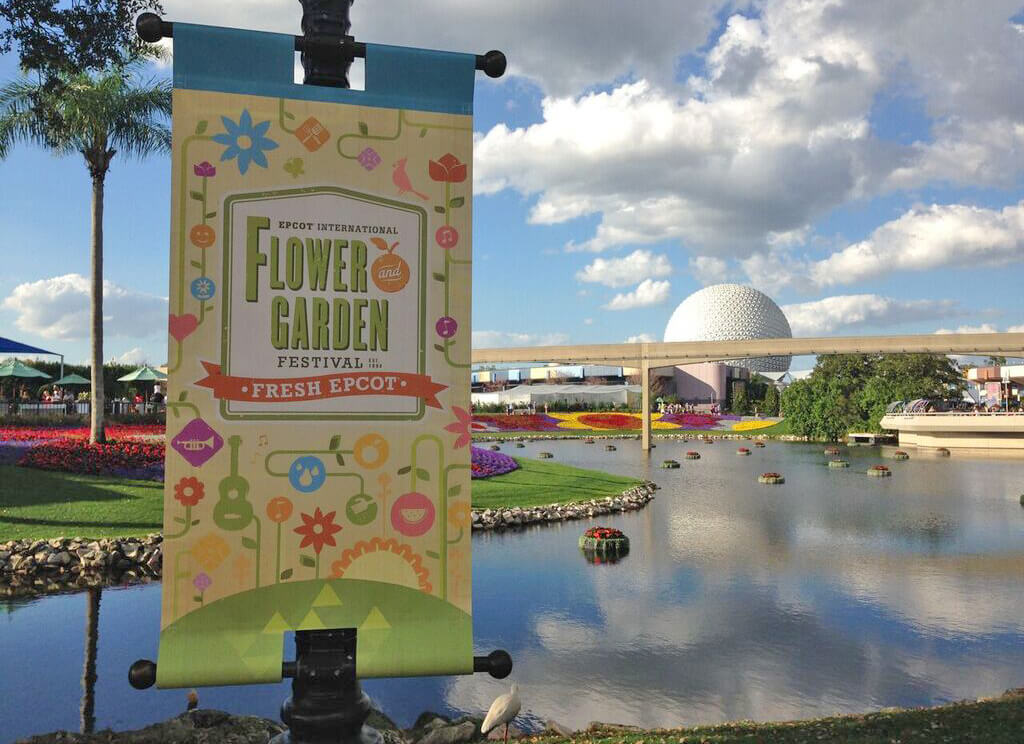 Fun Blooms at Epcot Flower and Garden Festival 2018