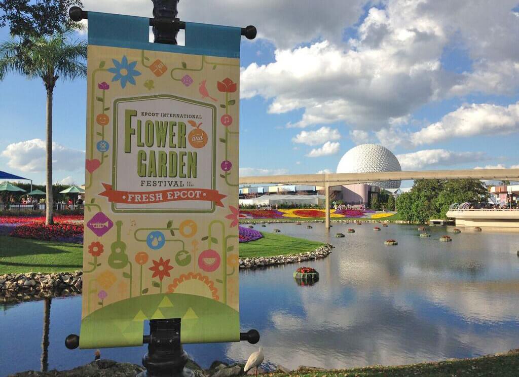 Fun Blooms At Epcot Flower Garden 2018