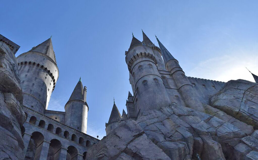 Wizarding World of Harry Potter at Universal Studios Hollywood Preview - Hogwarts Castle