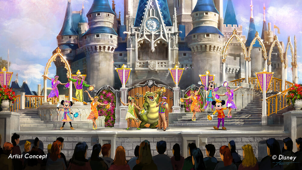 New Magic Kingdom Castle Show to Replace Dream Along with Mickey