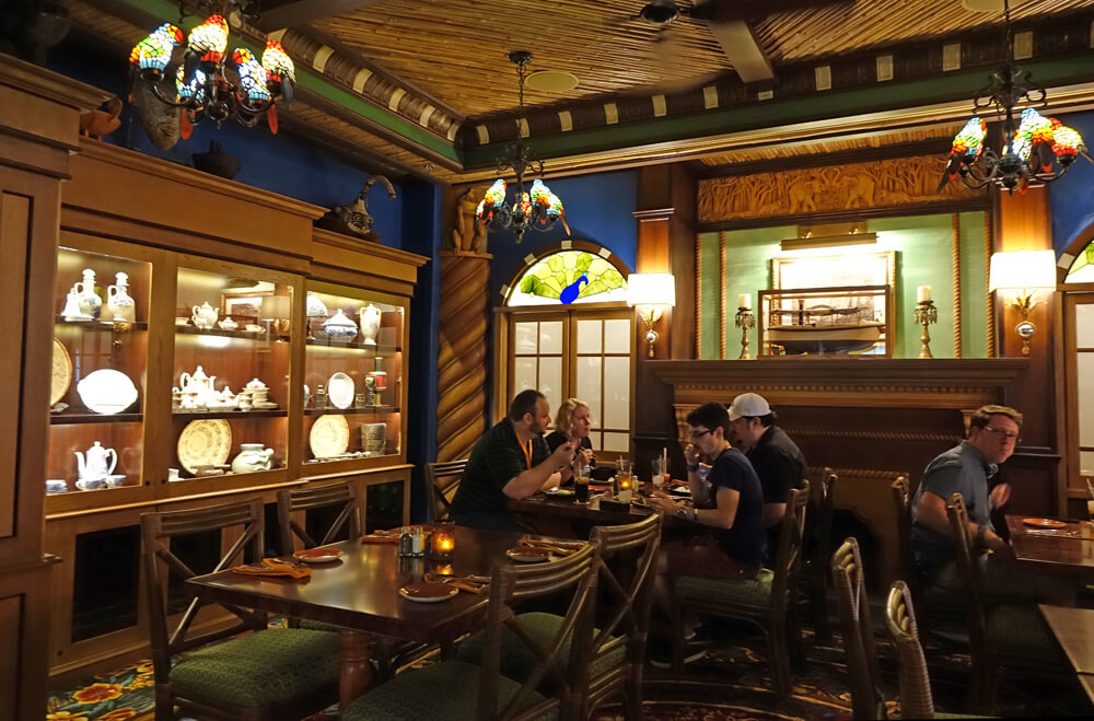 Jungle Navigation Co. Ltd. Skipper Canteen Review - Dining room