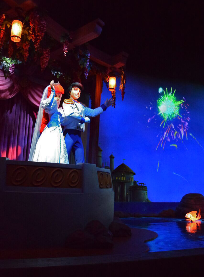 Romantic Things to Do at Disneyland - Under the Sea