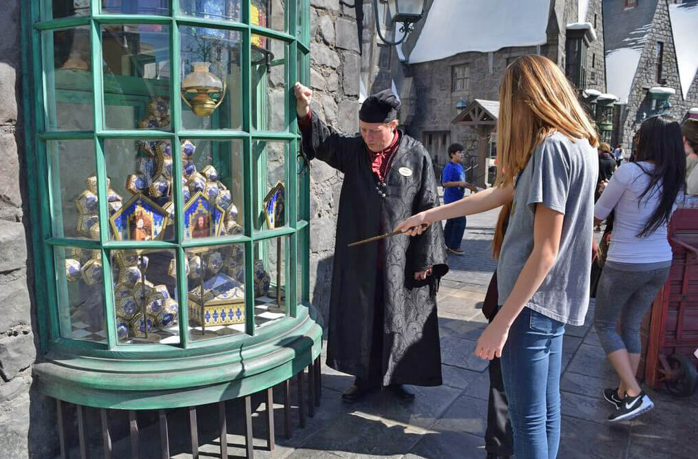 universal studios japan how to get harry potter land