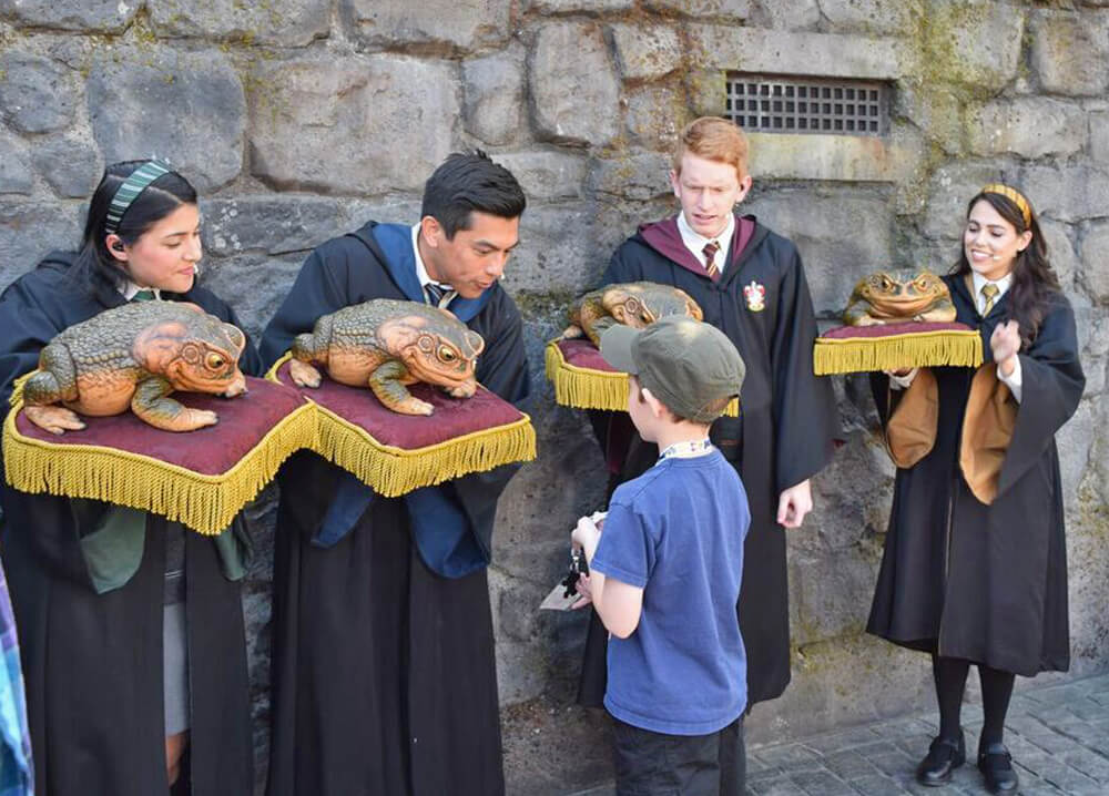 Wizarding World of Harry Potter at Universal Studios Hollywood Preview - Wizards