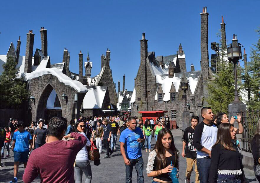Wizarding World of Harry Potter at Universal Studios Hollywood Preview -