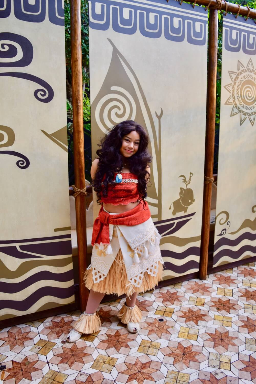 Disneyland Characters - Moana in Adventureland