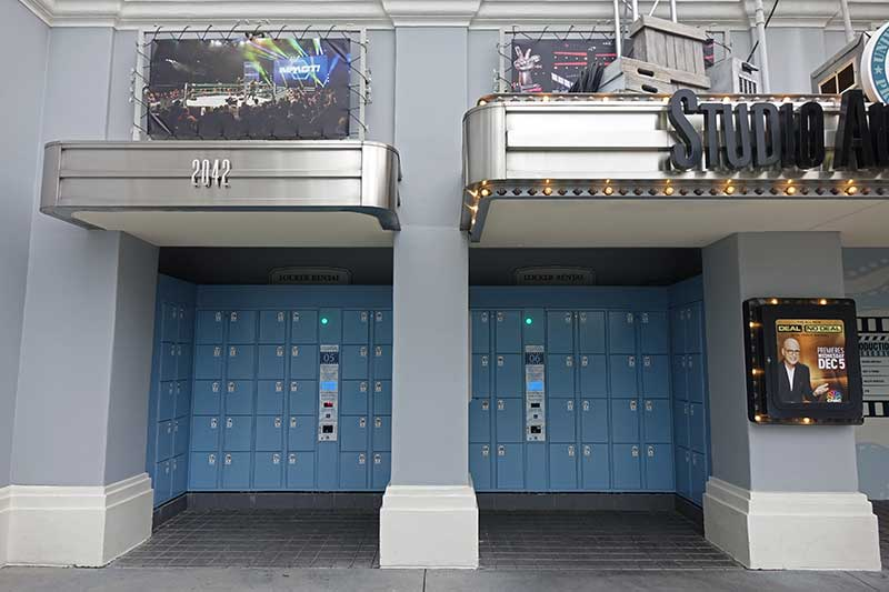 Universal Orlando Lockers for Rides - All Day Lockers