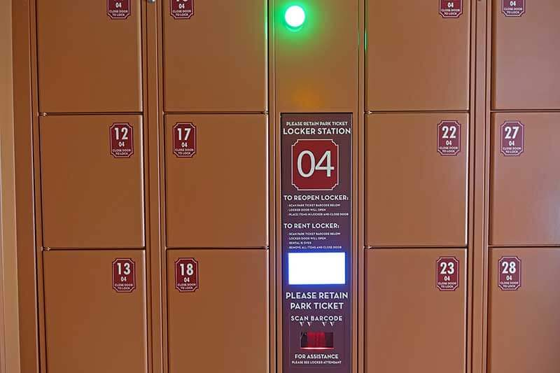 Universal Orlando's Lockers for Rides - Rental Station