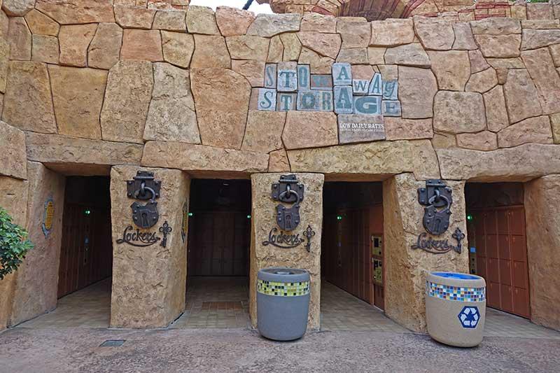 Universal Orlando's Lockers for Rides - Types of Lockers