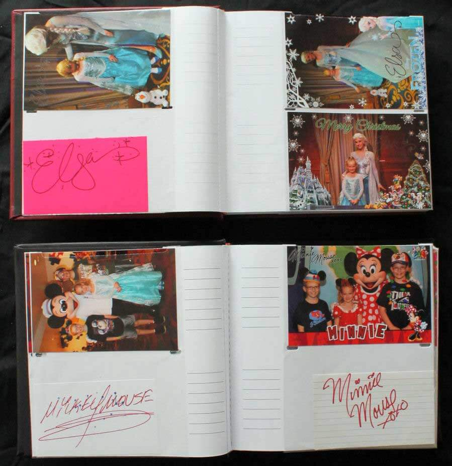 DIY Disney Photo and Photo Memory Book
