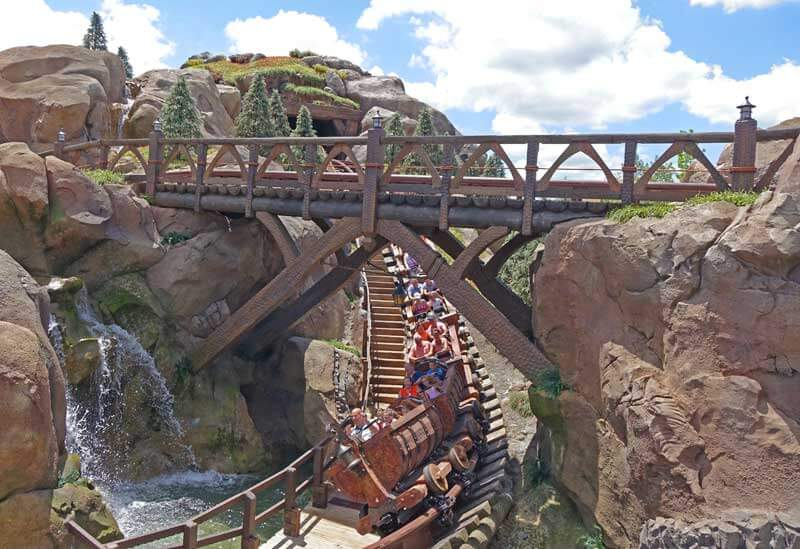 Disney World Height Requirements - Seven Dwarfs Mine Train