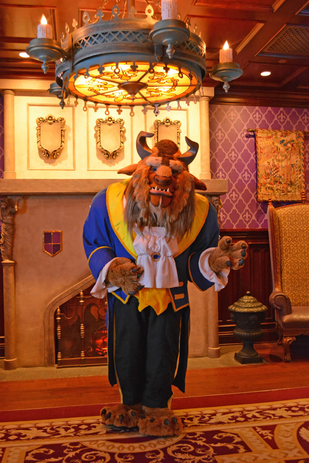 Disney World Dining Reservations - Beast at Be Our Guest