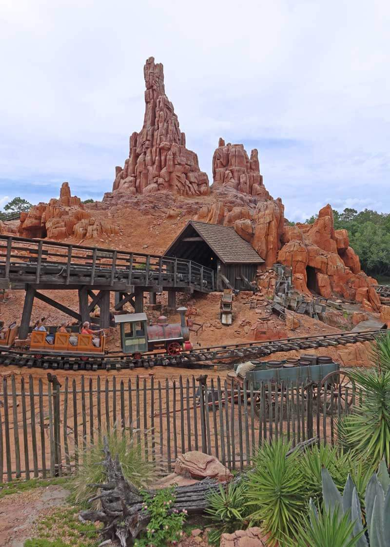 Disney World Height Requirements - Big Thunder Mountain Railroad