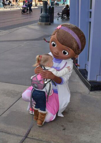The Doc is In! Doc McStuffins Visits Disney California Adventure ...