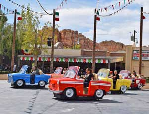 Luigi's Rollickin' Roadsters & Other Must-See Cars Land Attractions