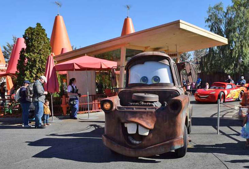 Must- See Cars Land Attractions - Mater
