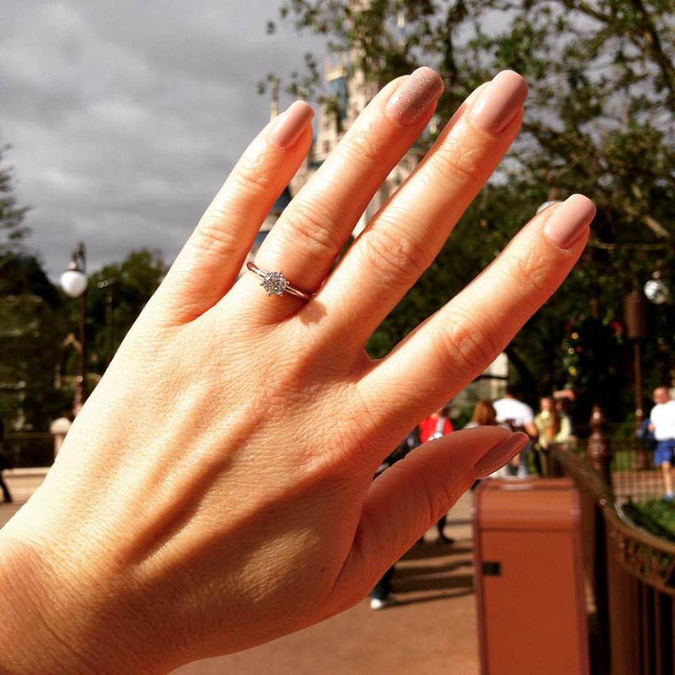 Getting Engaged at Disney World