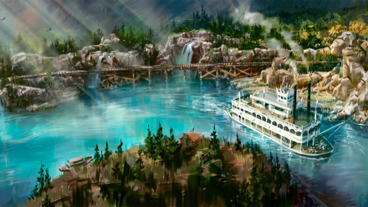 Disneyland Railroad, Rivers of America Attractions to Return in Summer 2017