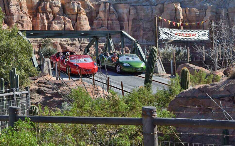 Must- See Cars Land Attractions - Radiator Springs Racers