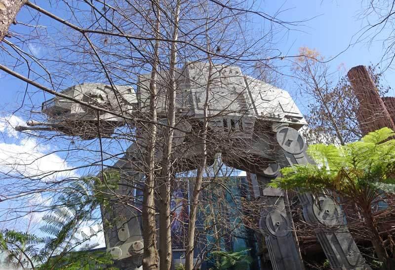 Scary Disney World Rides - Star Tours