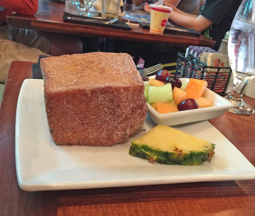 Disney World Dining Reservations - Tonga Toast at Kona
