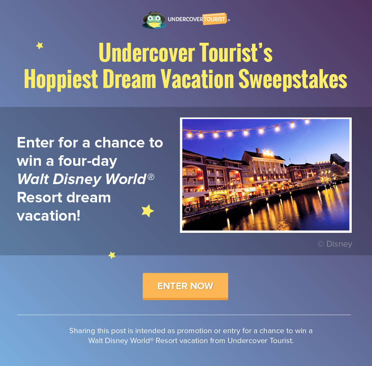 Enter Undercover Tourist's Hoppiest Dream Vacation Sweepstakes