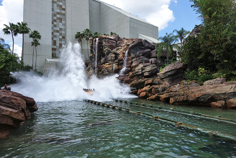 Favorite Orlando Water Rides - Jurassic Park River Adventure