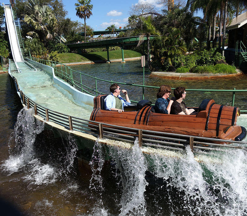 Favorite Orlando Water Rides - Stanley Falls