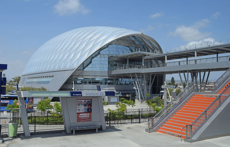 Public Transportation to Disneyland and Universal Studios Hollywood - Anaheim Regional Transportation Intermodal Center