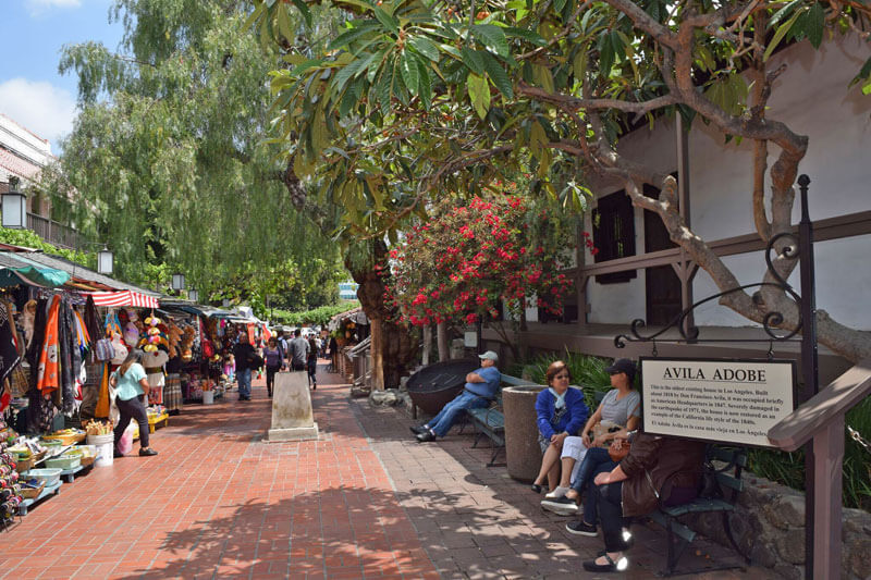 Visiting Olvera Street—The Oldest Street in Los Angeles