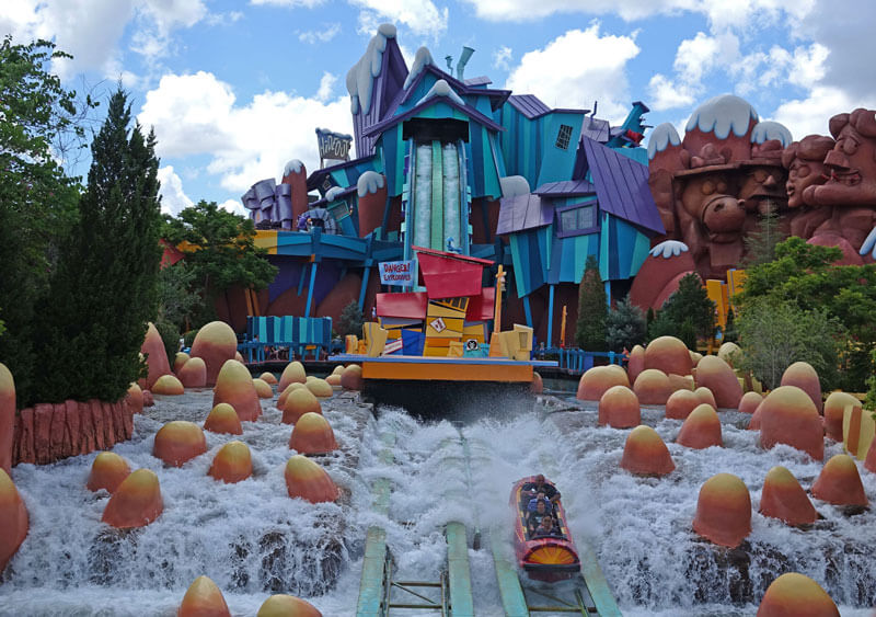 Favorite Orlando Water Rides - Dudley Do Right's Ripsaw Falls