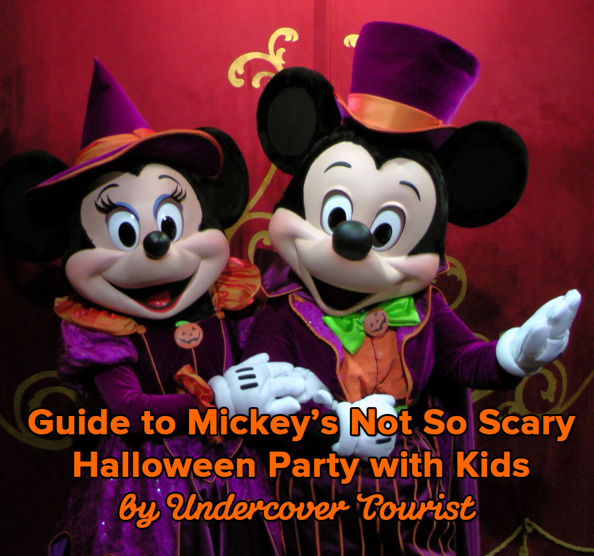 Guide to Mickey's Not So Scary Halloween Party