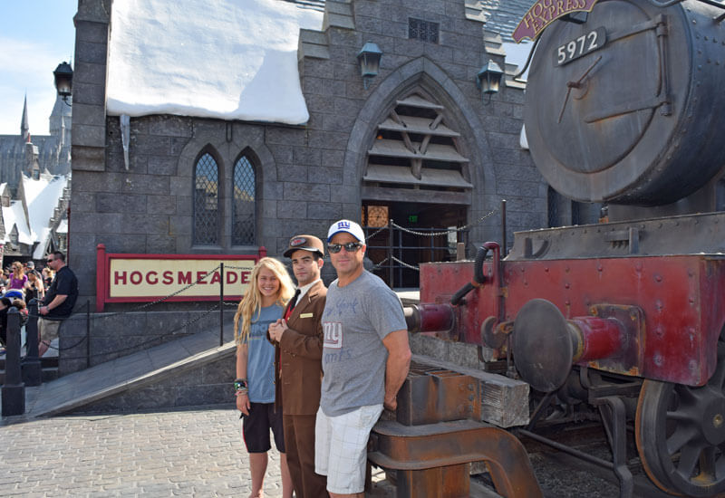 Public Transportation to Universal Studios Hollywood - Hogwarts Express