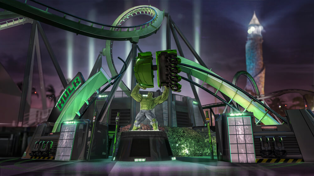 Universal's Incredible Hulk Coaster Gets an Almost Total Overhaul