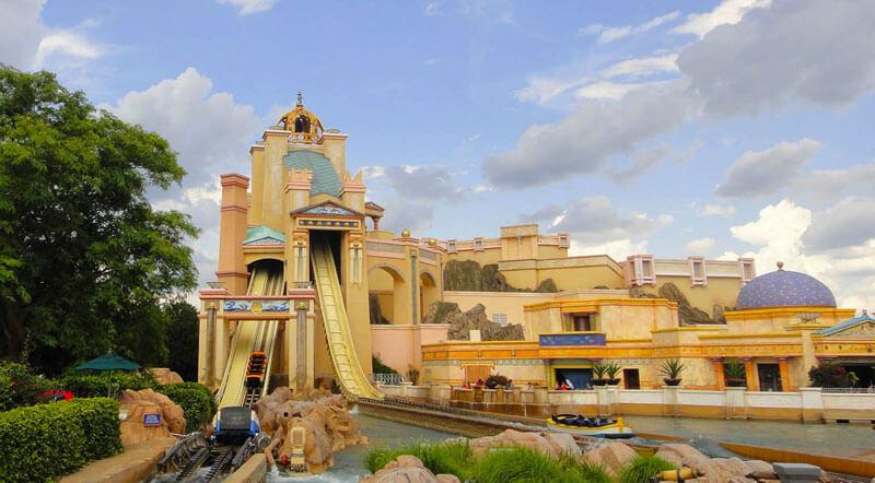 Favorite Orlando Water Rides - Journey to Atlantis
