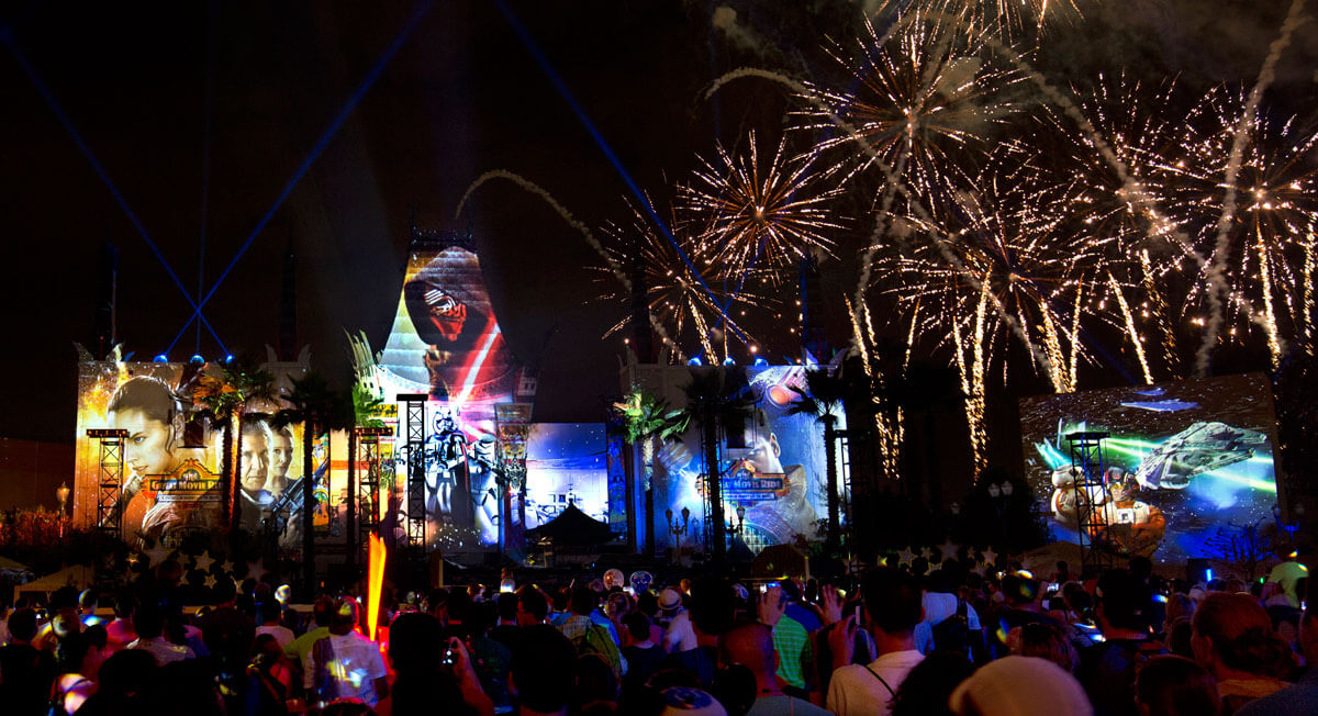 Star Wars: A Galactic Spectacular - Tips for the Star Wars Fireworks at Disney's Hollywood Studios