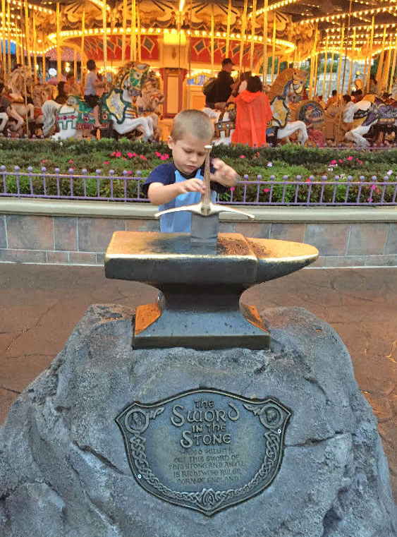 Disney DAS Review - Sword in the Stone