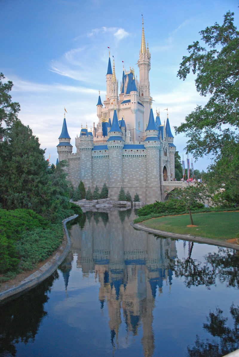 Disney World Withdrawals - Cinderella's Castle