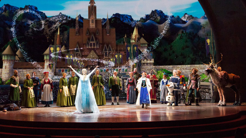 Frozen Live at the Hyperion Theater
