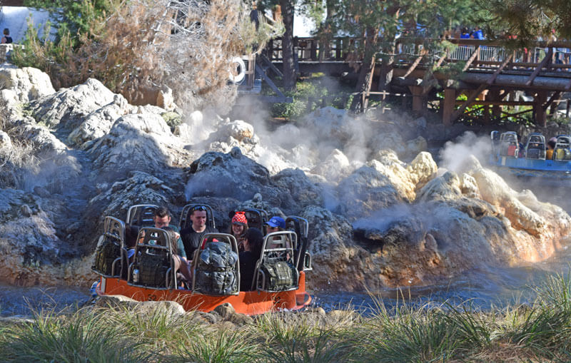 Managing Summer Crowds and Heat at Disneyland - Grizzly River Run