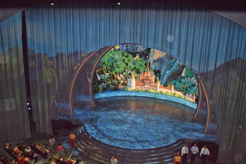 Frozen Live at the Hyperion Theater Stage