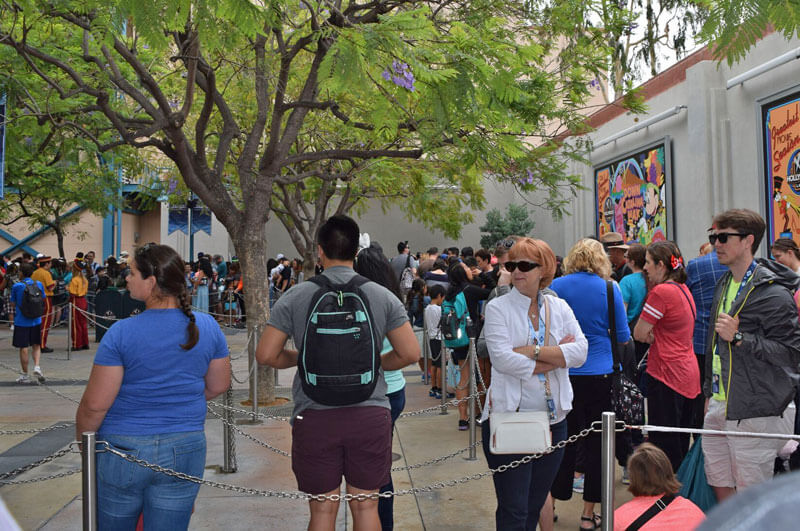 Frozen Live at the Hyperion Theater - Standby Queue