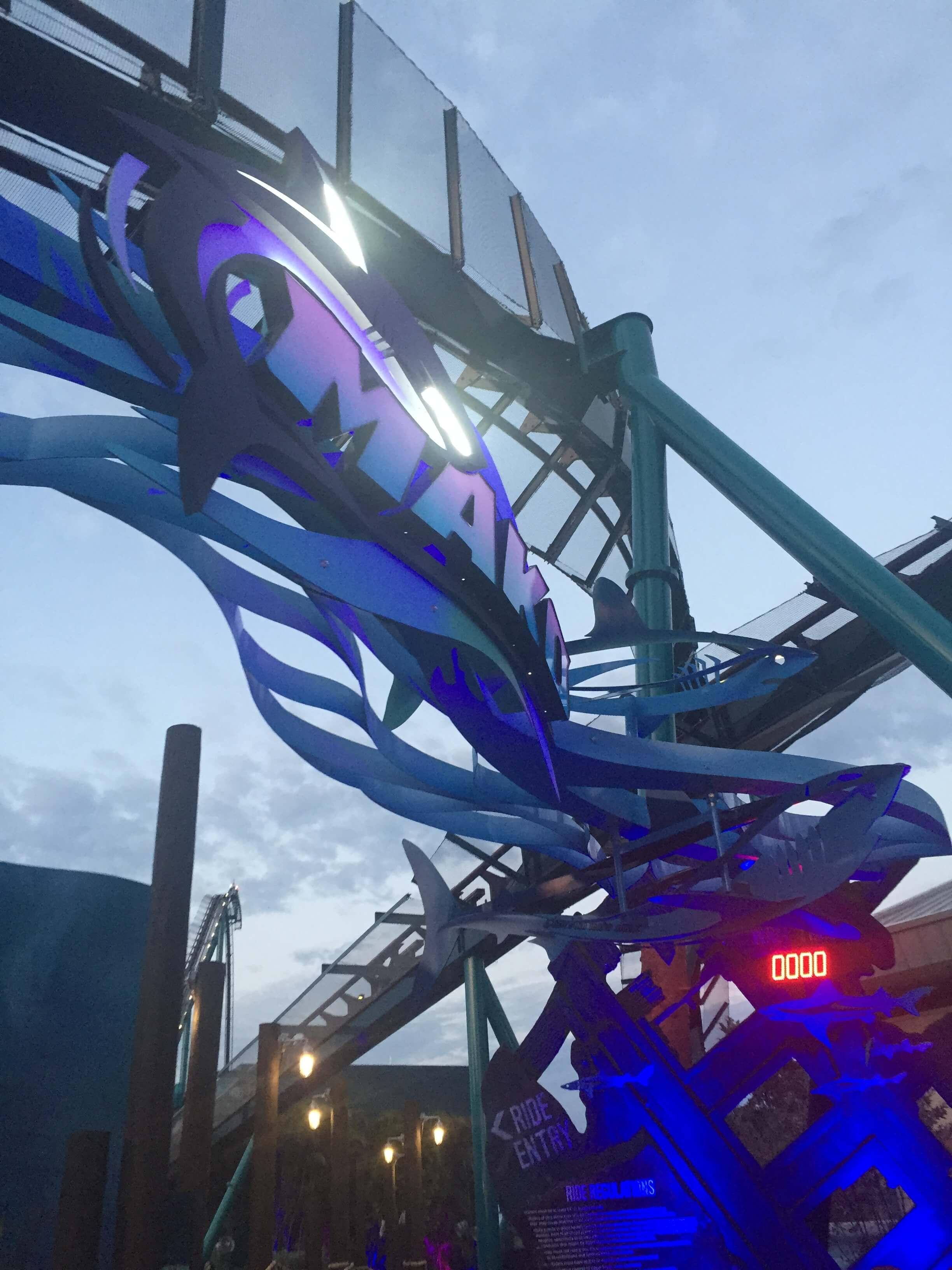 SeaWorld's Mako Officially Opens As Orlando's Fastest Coaster